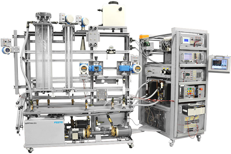 Festo Pressure, Flow, Level and Tempurature Process Training System